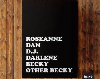Roseanne Greeting Card