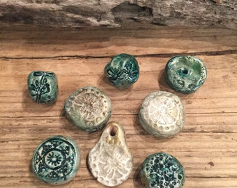 how to make olive green polymer clay