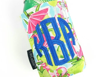 Free KOOZIE ® with purchase of Monogram Can Cuddler ®-Select your size; can,slim can,water bottle, 8 oz rita