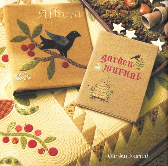 Blackbird designs friendship 39 s garden quilt patterns for Tending the garden blackbird designs