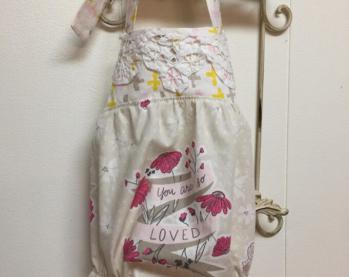 Boho Bubble Romper/ Baby Girl Bubble/Art Gallery Fabric Wonderful Things /Bonnie Christine Designnet Fabric/ Summer Bubble