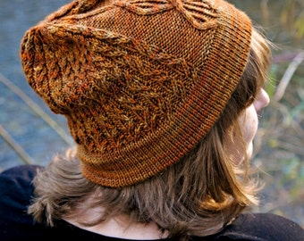 Ugendo Hat Knitting Pattern ONLY
