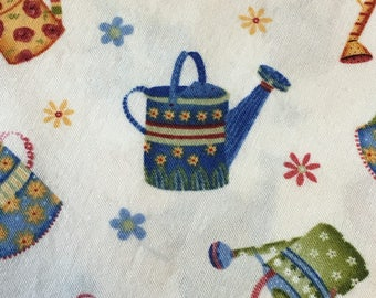 Watering Cans & Flowers - Standard Pillow Case