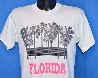 90s Florida Palm Trees Neon t-shirt Medium