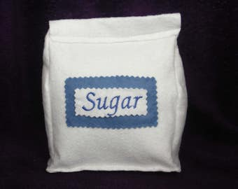 Bag of Sugar - Felt Food Toy