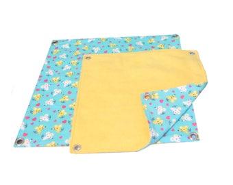 Flat Hammock MADE TO ORDER Small  Rat hammock , small pet hammock