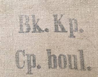 Vintage European Grain Sack from 1943 in Excellent Condition (X4278)