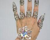 Custom Pearl Hand Flower Bracelet for GoombaGal