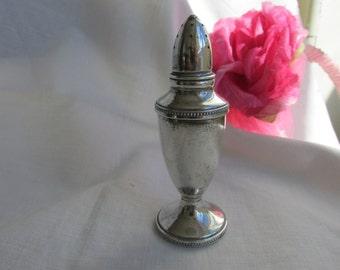 Salt Shaker - Sterling Silver - Vintage