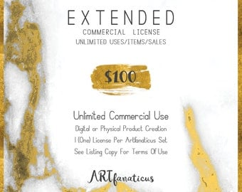 Extended Commercial License Unlimited Use