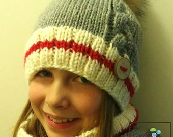 Sylvie's kit, Sylvie's hat, hat and neckwarmer set