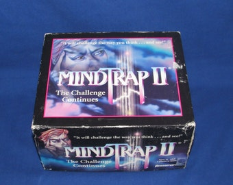 MINDTRAP II GAME The Challenge Continues 1997 Pressman