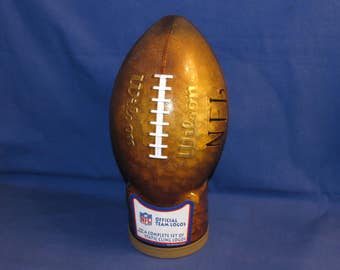 SNACK FACTORY Coin Bank Football Complete Set of 1997 NFL Static Cling Logs