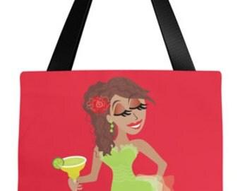 Fashion Illustration • Margarita Tote Bag