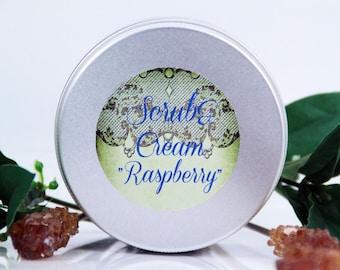 "Scrub&Cream  ""Raspberry"""