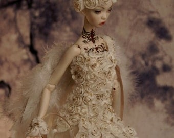 Wedding Roses- dress for Popovy Sisters doll