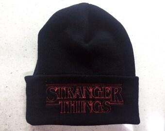 Stranger Things beanie Goonies Monster Squad 80's sci-fi