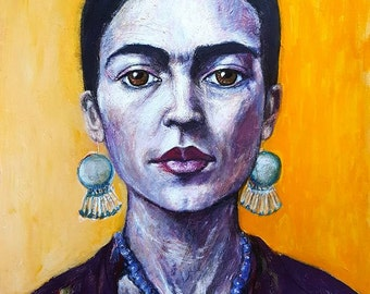 Frida Kahlo Limited Edition A3 Fine Art Print on beautiful Ilford Gallerie Prestige Textured Cotton Artist Paper