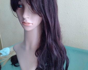dark brown hair kawaii cosplay
