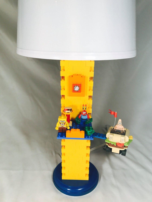 Lego Lamp - Spongebob
