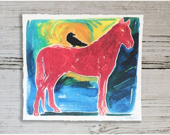 Raven Horse