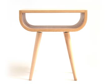 Wooden Stool Bent Plywood Wood Stool Entryway Stool