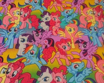 Packed Ponies - My Little Pony Fabric