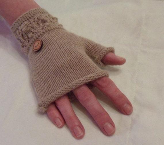Knitting Pattern For No Finger Gloves : knitting pattern Finger less Gloves. wrist warmers.jpeg