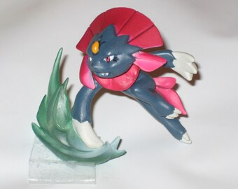 Pokemon Weavile Figurine Made Into Your Choice of Options