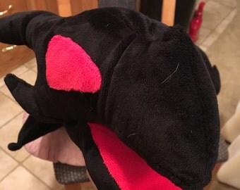 Red Eyes Black Dragon Plush