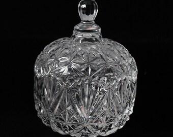 Crystal Glass Candy Jar