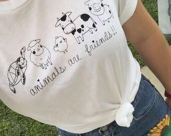 Animal Lover Vegan Shirt