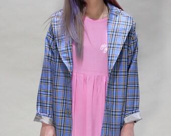 Pastel Tartan Coat