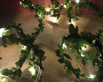 Fairy Garland Lights LED Garland Fairy Garden Miniatures Woodland Lighting