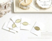 Dollhouse Pastry Bags - 5 Pieces - Dollhouse Miniature Decor Accessories