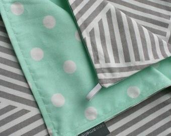 Dual fabric baby gate  /  Reversible Fabric gate  /  Canvas baby gate  /  Fabric baby gate, Custom fabric gate, Handmade baby gate