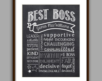 World's Best Boss Gift For Boss Boss Gift Best Boss