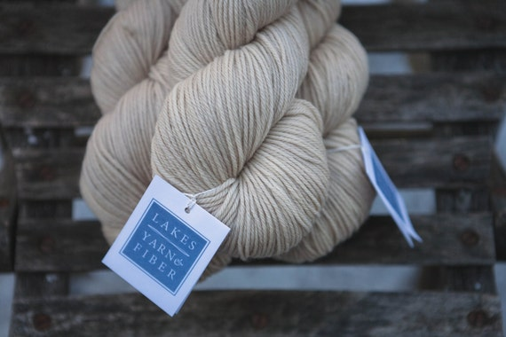 Hand Dyed Organic Merino Worsted Weight Yarn