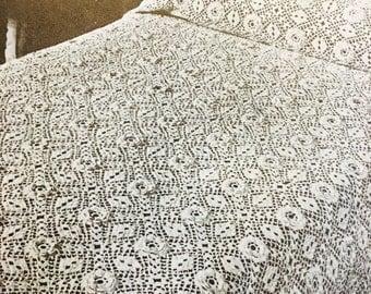 My wild Irish Rose bedspread crocheted PDF instant download