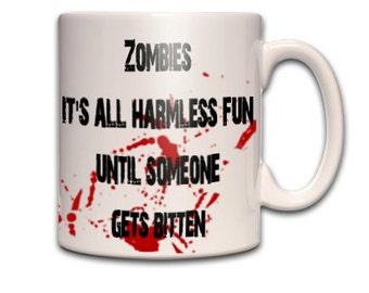 ZOMBIES..its all harmless fun