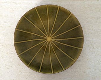 Annemarie Davidson Modern Copper Enamel Plate