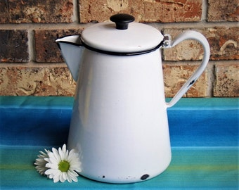 Enamelware Coffee or Tea Percolator