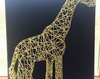 Giraffe - String Art