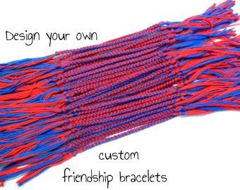 25 Custom Friendship Bracelets Bulk Order - Bulk Friendship Bracelets