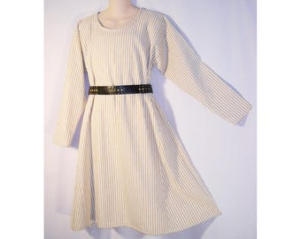Boy/Tween Medieval Striped Cotton Norman, Saxon, or Viking Tunic SCA, LARP