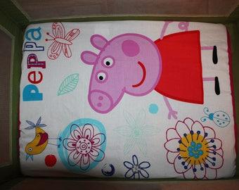 Fitted Pack n Play Sheet - Peppa Pig