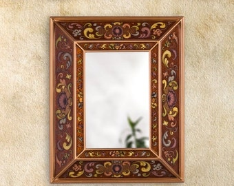 Sale 15 off large decorative wall mirror 39 navy by for Decorative bathroom mirrors sale