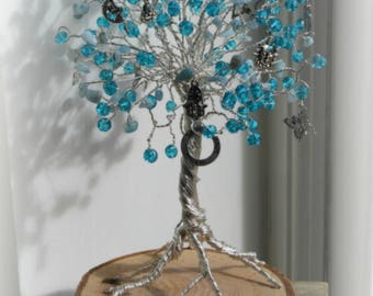 Aquamarine March birthstone Gemstone healing tranquility rainbowtrees