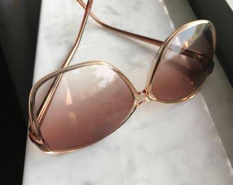 70s Vintage Sunglasses | Retro 1970s Oversized Sunglasses | Vintage Eyeglasses