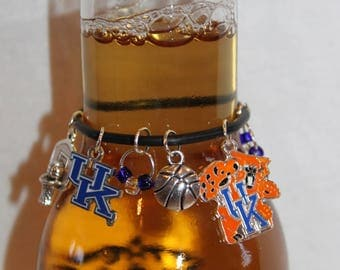 Kentucky Wildcats Beer Charm Kentucky Charms College Charms Wildcats Charms